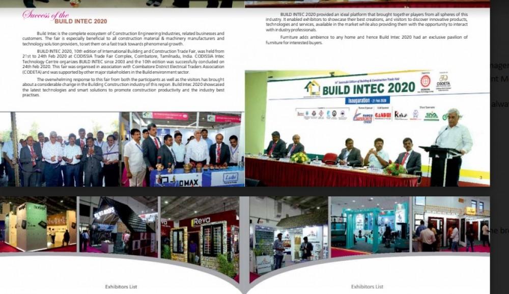 CODISSIA and team Build Intec 2022