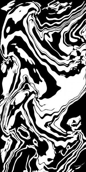 - 600 x 1200 mm (24 x 48 pouces) - ORIENT BLACK-neew