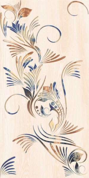 - 600 x 1200 mm (24 x 48 pouces) - damasco-beige-decor